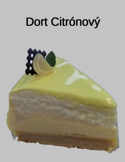 Dort Citrónový - Cukrárna Jiřina