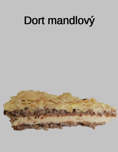 Dort mandlový - Cukrárna Jiřina