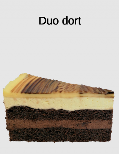 Duo dort - Cukrárna Jiřina