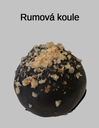 Rumová koule - Cukrárna Jiřina