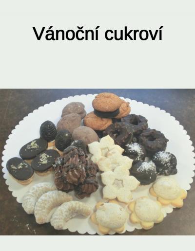 Vánoční cukroví - Cukrárna Jiřina
